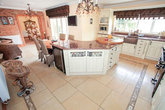 Thumbnail Detached house for sale in The Pingle, Northborough, Peterborough