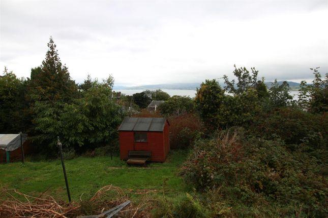 Garden of Hillside Drive, Port Glasgow PA14