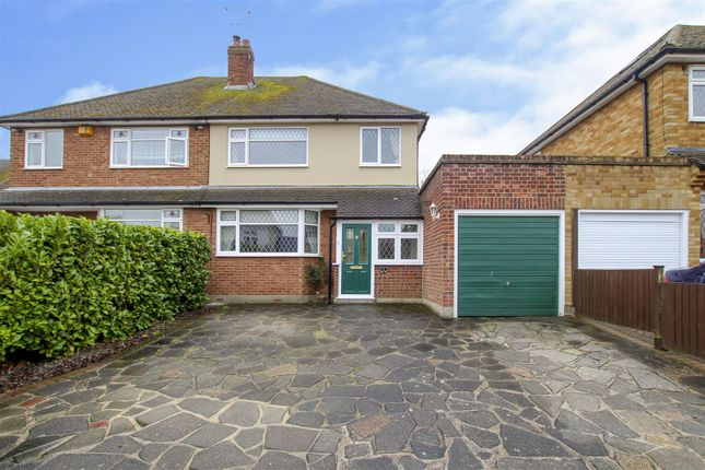 Semi-detached house for sale in The Chase, Ingrave, Brentwood