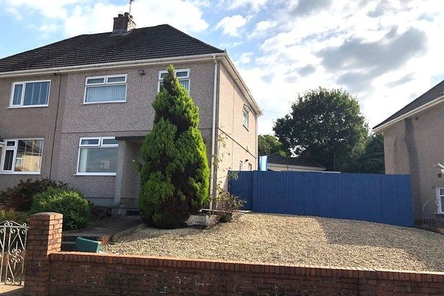 Thumbnail Semi-detached house for sale in Myrtle Road, Cimla, Neath, Neath Port Talbot.