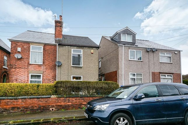 Thumbnail Semi-detached house for sale in Valley Road, Chesterfield