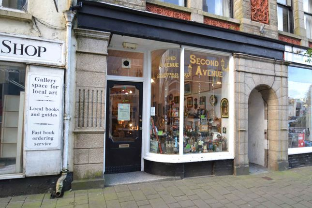 Retail premises for sale in Honey Street, Bodmin, Cornwall