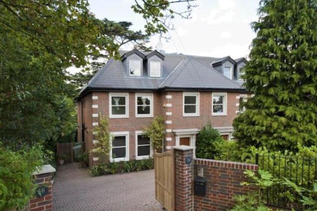 Thumbnail Semi-detached house to rent in Hanger Hill, Weybridge