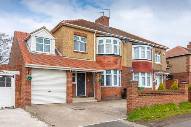 5 bed semi-detached house for sale in North Seaton Road, Ashington NE63