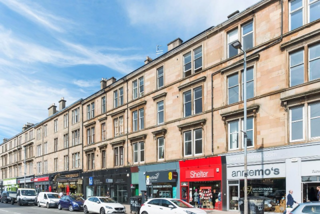 Thumbnail Flat to rent in Great Western Road, Woodlands, Glasgow, 9Ej
