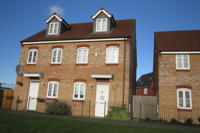 Thumbnail Property to rent in Chequers Close, Corby