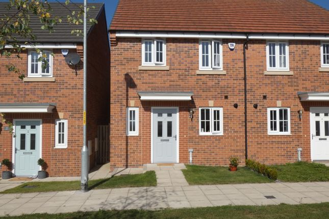 Thumbnail Semi-detached house for sale in Jefferson Grove, Seaton Delaval, Tyne & Wear