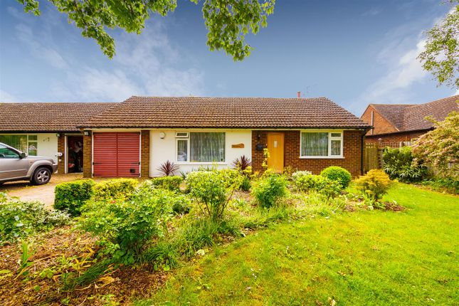 Thumbnail Semi-detached bungalow for sale in High Street, Hinxworth, Baldock