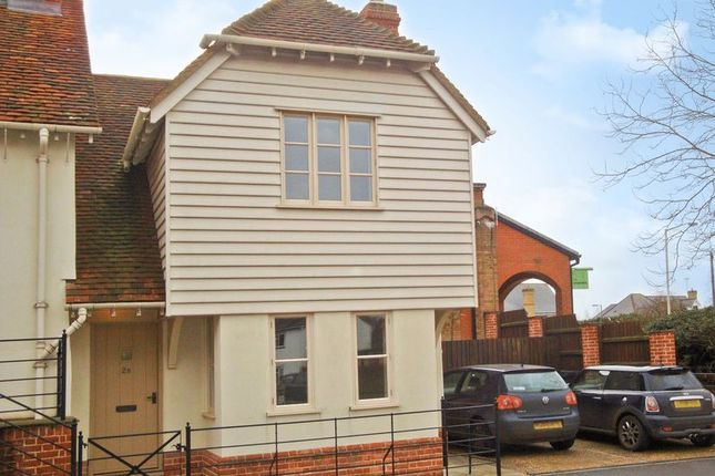 Thumbnail End terrace house to rent in Hare Street Road, Buntingford