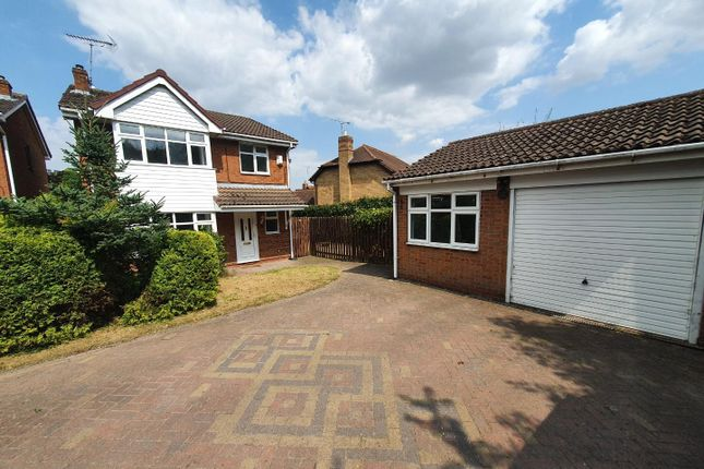 Thumbnail Detached house to rent in Honeysuckle Close, Boughton Vale, Rugby