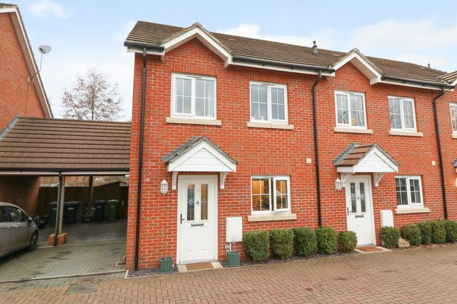 Thumbnail Semi-detached house to rent in Hindmarch Crescent, Hedge End, Southampton