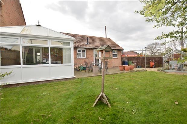 Thumbnail Semi-detached bungalow for sale in Yarnolds, Shurdington, Cheltenham, Gloucestershire