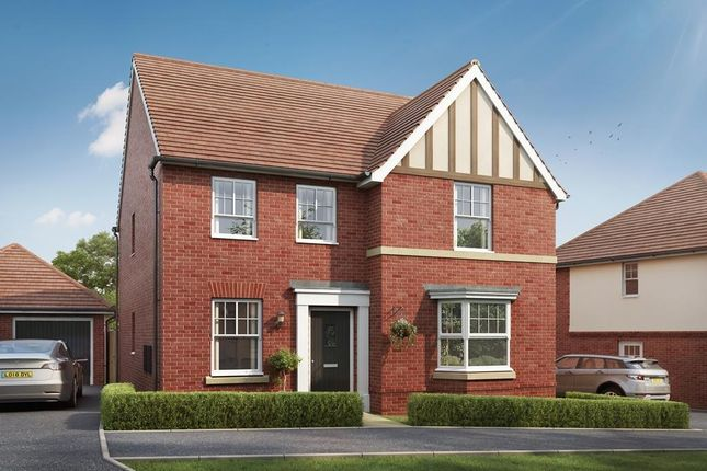 """Thumbnail 4 bedroom detached house for sale in """"Barrow"""" at Lower Road, Hullbridge, Hockley"""
