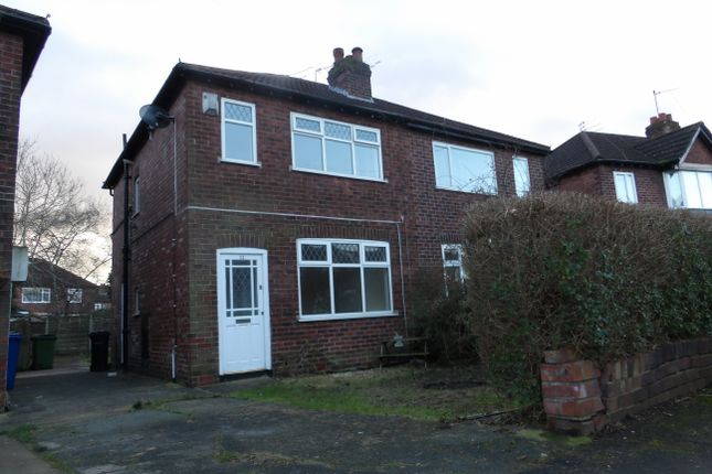 Thumbnail Semi-detached house to rent in Windsor Drive, Bredbury, Stockport