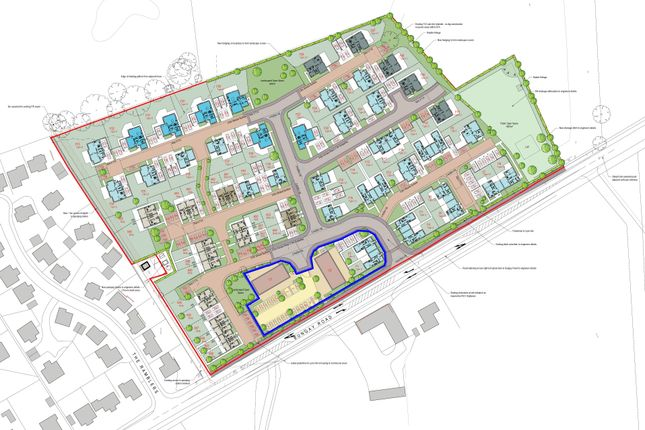 Thumbnail Land for sale in Bungay Road, Bixley, Framingham Earl