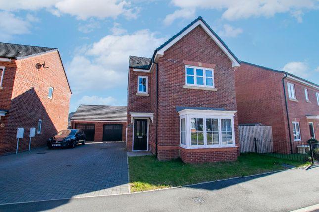 4 bed detached house for sale in Woodland Close, Broadoaks, Bedlington, Northumberland NE22