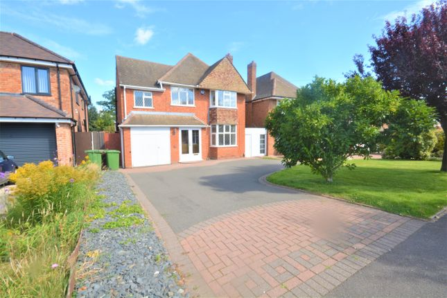 Thumbnail Detached house to rent in Buryfield Road, Solihull, Solihull