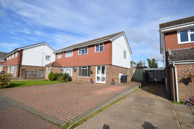 Thumbnail 3 bed property to rent in Lowick Court, Moulton, Northampton