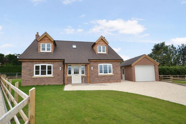 Thumbnail Detached bungalow for sale in Pave Lane, Chetwynd Aston, Newport
