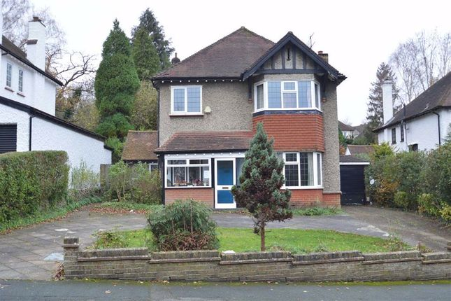 Thumbnail Detached house for sale in Grovelands Road, Purley, Surrey