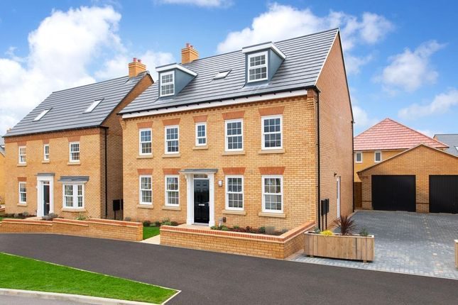"Thumbnail Detached house for sale in ""Buckingham"" at Southern Cross, Wixams, Bedford"