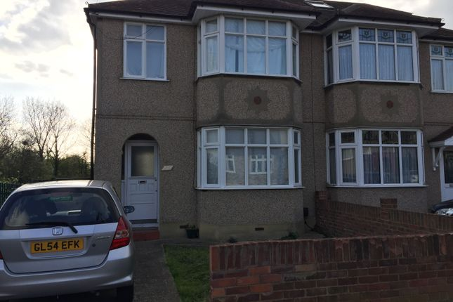 Thumbnail Semi-detached house to rent in Ashvale Drive, Upminster