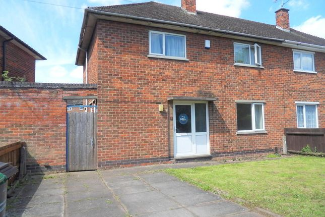 Thumbnail Semi-detached house to rent in Ashby Crescent, Loughborough