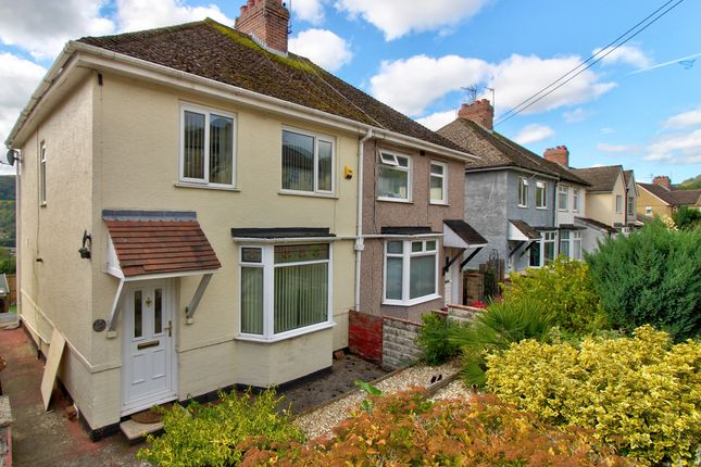 Thumbnail Semi-detached house for sale in Fernlea, Risca, Newport