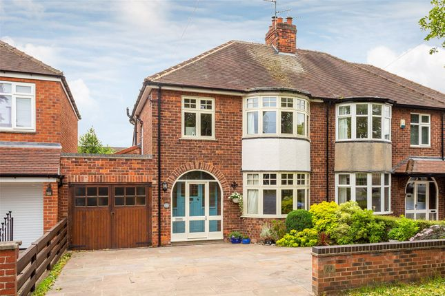 Thumbnail Semi-detached house for sale in Beckfield Lane, York