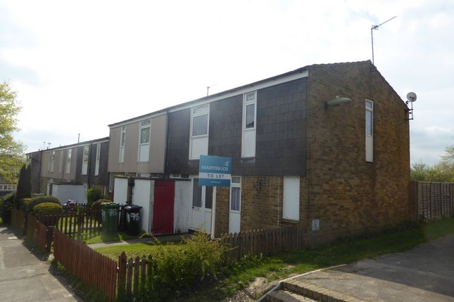 Thumbnail Terraced house to rent in Pentland Close, Basingstoke