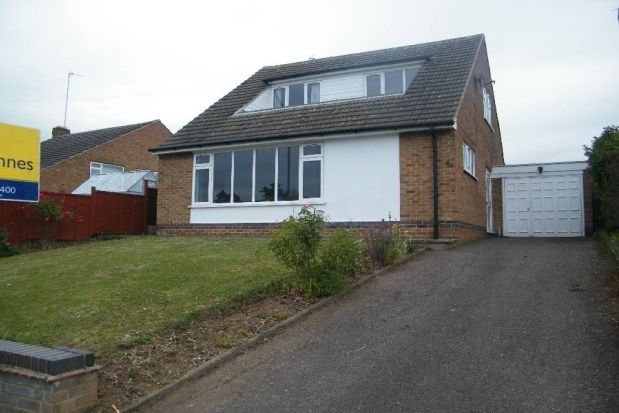 Thumbnail Bungalow to rent in Valley Road, Loughborough