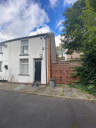 End terrace house for sale in Brook Place, Pentre, Rhondda, Cynon, Taff. CF41