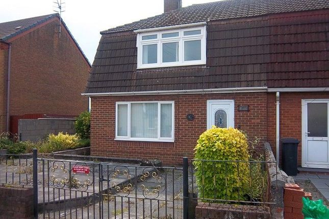 Thumbnail Semi-detached house to rent in Lake Road, Port Talbot, Neath Port Talbot.