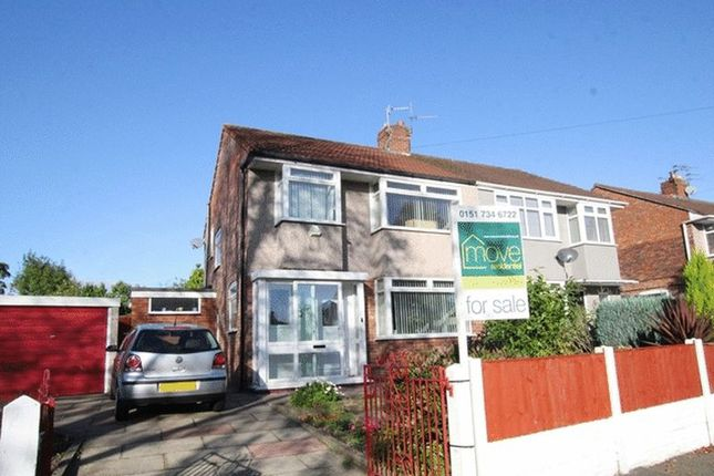 3 bed semi-detached house for sale in Baileys Lane, Halewood, Liverpool