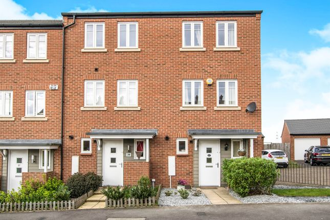 Thumbnail End terrace house for sale in Horseshoe Crescent, Great Barr, Birmingham