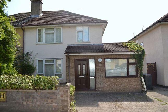 Thumbnail Semi-detached house to rent in Birdwood Road, Cambridge