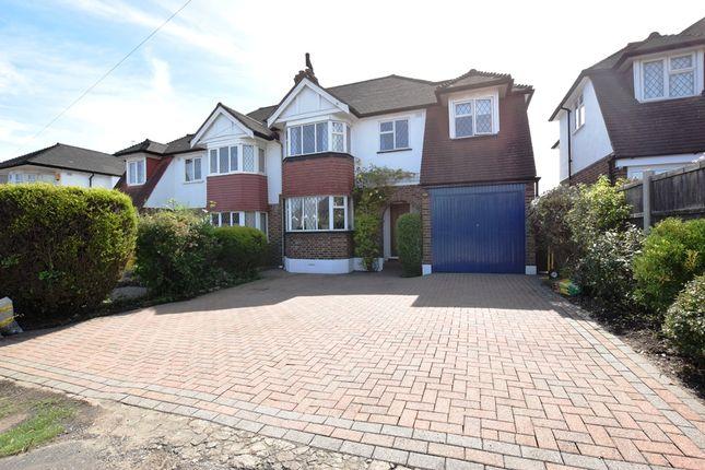 Thumbnail Semi-detached house for sale in Farm Way, Buckhurst Hill, Essex