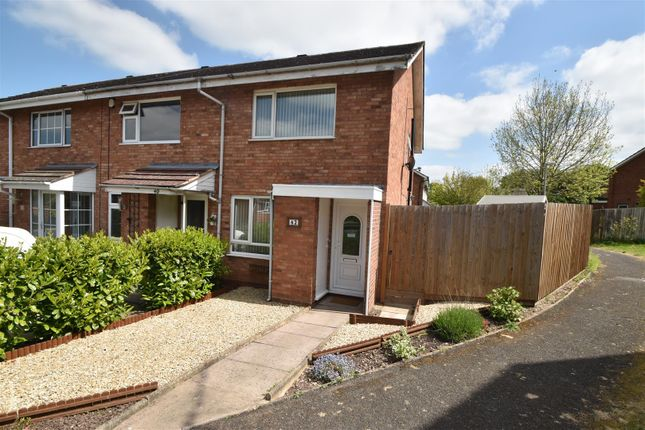 Thumbnail End terrace house for sale in Ledwych Road, Droitwich