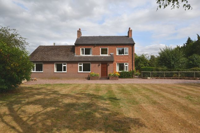 Thumbnail Detached house for sale in Rosehill Road, Rosehill, Market Drayton