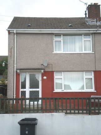 Thumbnail Semi-detached house to rent in Nant Gwyn, Cwmdare, Aberdare