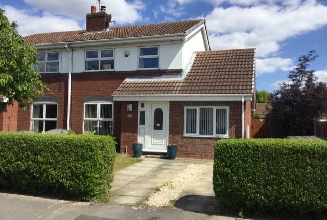 Thumbnail Semi-detached house for sale in Ferry Close, Hemingbrough, Selby