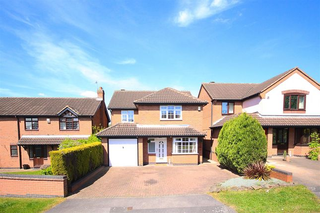 Thumbnail Detached house for sale in Avonbridge Close, Arnold, Nottingham