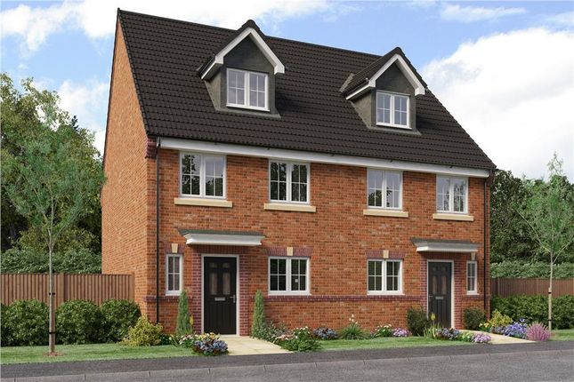 "Thumbnail Semi-detached house for sale in ""Auden"" at Sophia Drive, Great Sankey, Warrington"