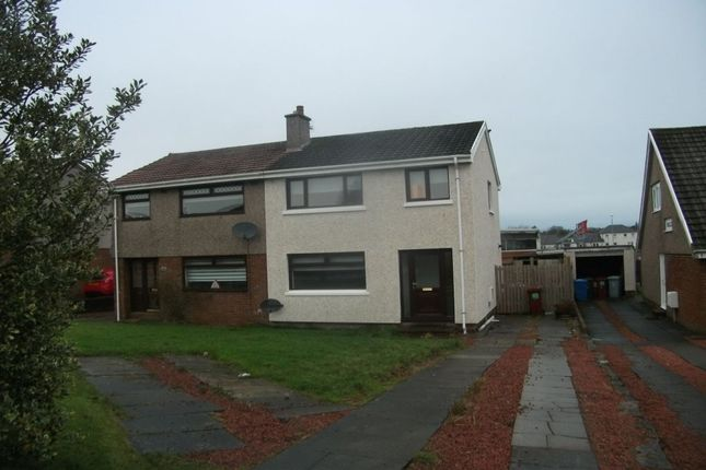 Thumbnail Semi-detached house to rent in Loch Park Avenue, Carluke