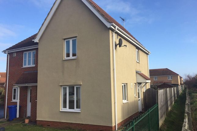 Thumbnail Semi-detached house to rent in Holystone Way, Carlton Colville, Lowestoft