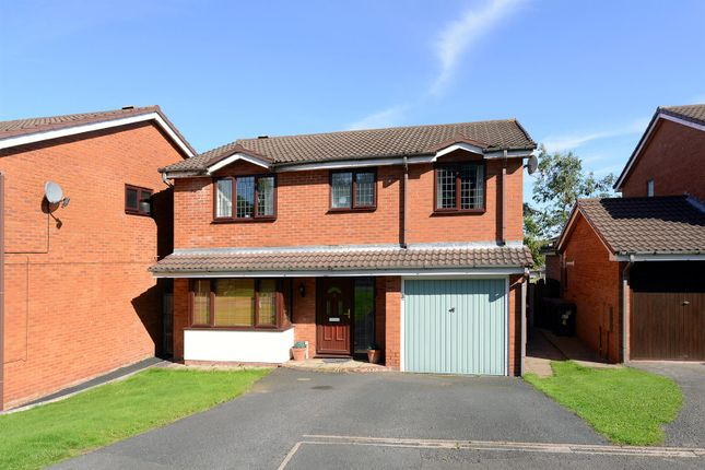Thumbnail Detached house for sale in Ullswater Close, Priorslee, Telford