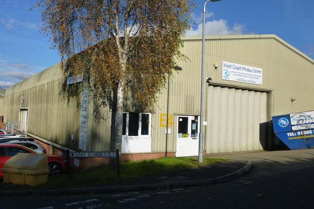 Thumbnail Light industrial to let in Unit E4, Marabout Industrial Estate, Dorchester, Dorset