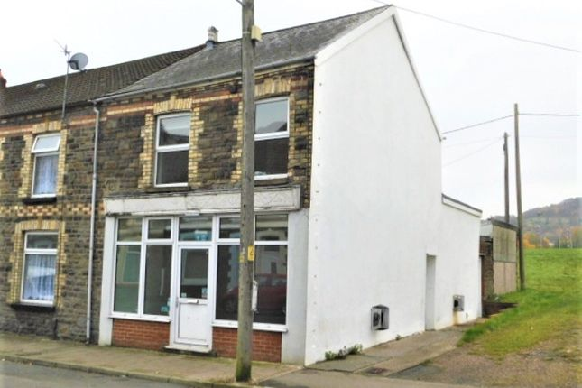 Thumbnail Terraced house for sale in Pwllgwaun Road, Pontypridd