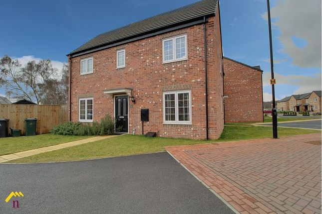 Thumbnail Semi-detached house to rent in Fairlands Grove, Auckley, Doncaster