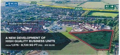 Thumbnail Light industrial for sale in Unit 2, Marston Business Park, Marston Moretaine, Bedfordshire